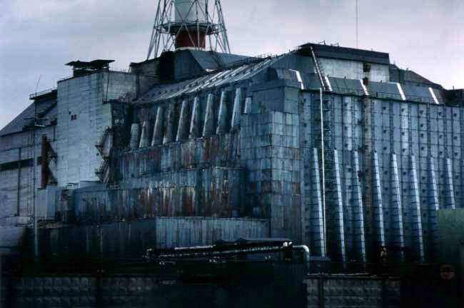 チェルノブイリ原発の「石棺」